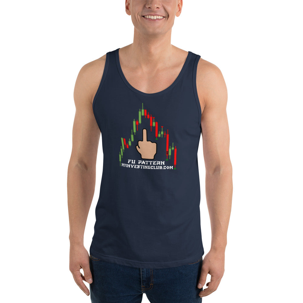 FU Pattern Men's Tank Top