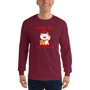 Lucky Pig Men's Long Sleeve Shirt