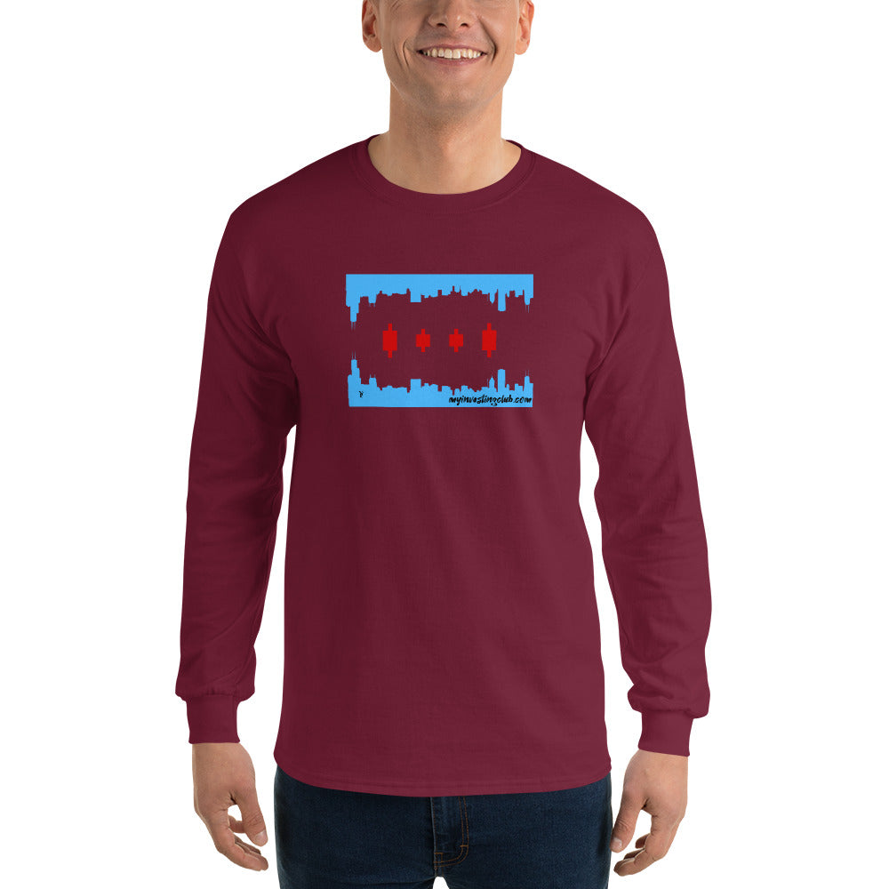 Chicago Trader Men's Long Sleeve Shirt