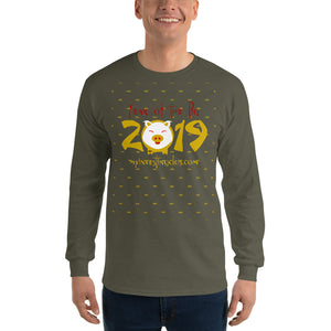 Year Of The Pig Men's Long Sleeve Shirt