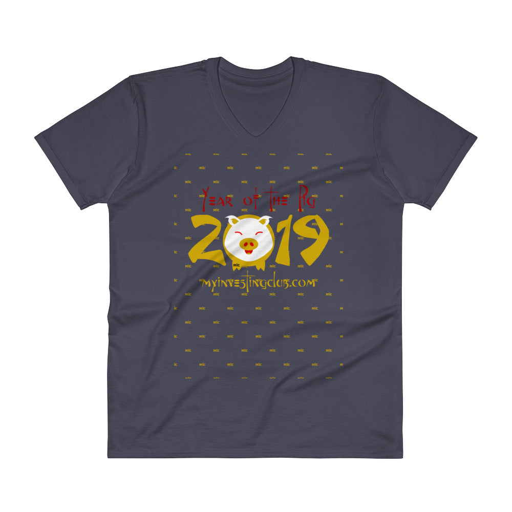 Year Of The Pig Men's V-Neck T-Shirt