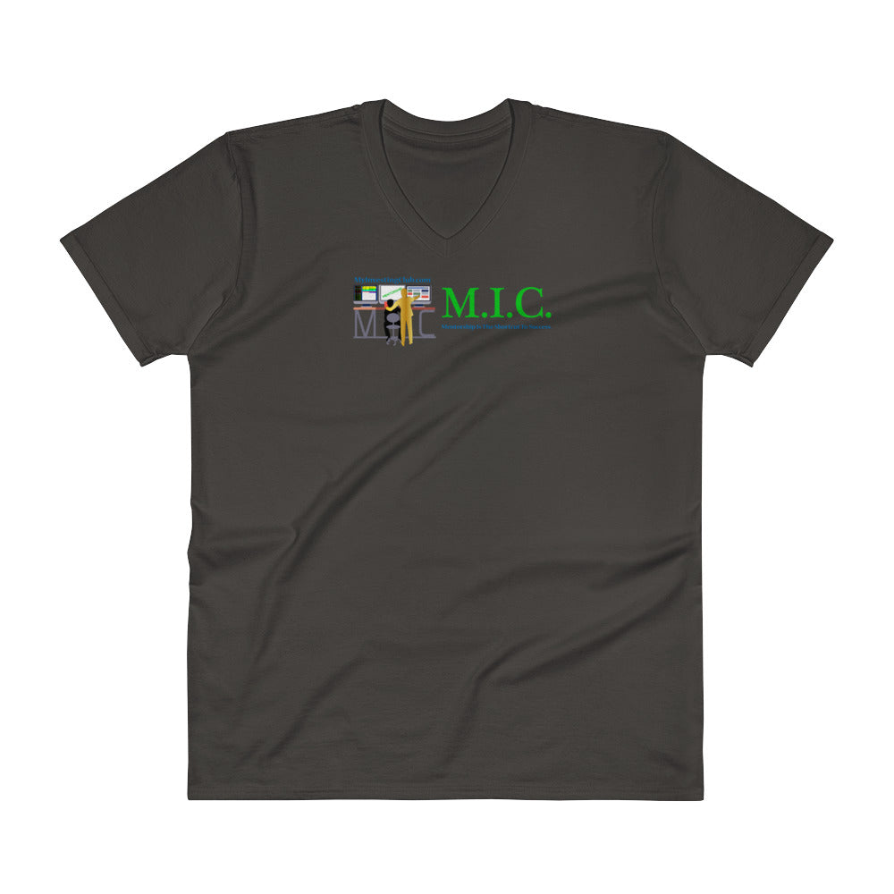 MIC Mentor Men's V-Neck T-Shirt
