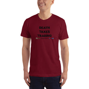 Death Taxes Trading Men's T-Shirt