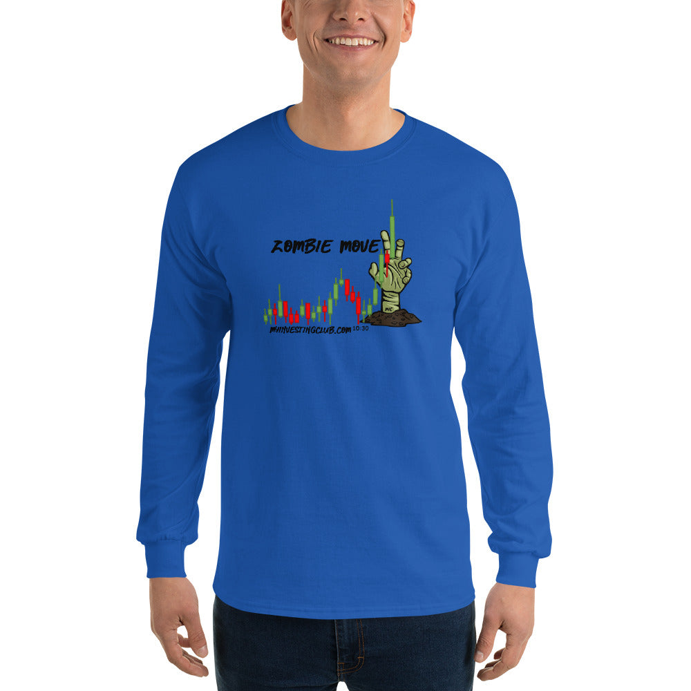 Zombie Move Men's Long Sleeve Shirt