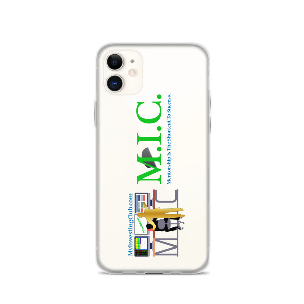MIC Mentor iPhone Case