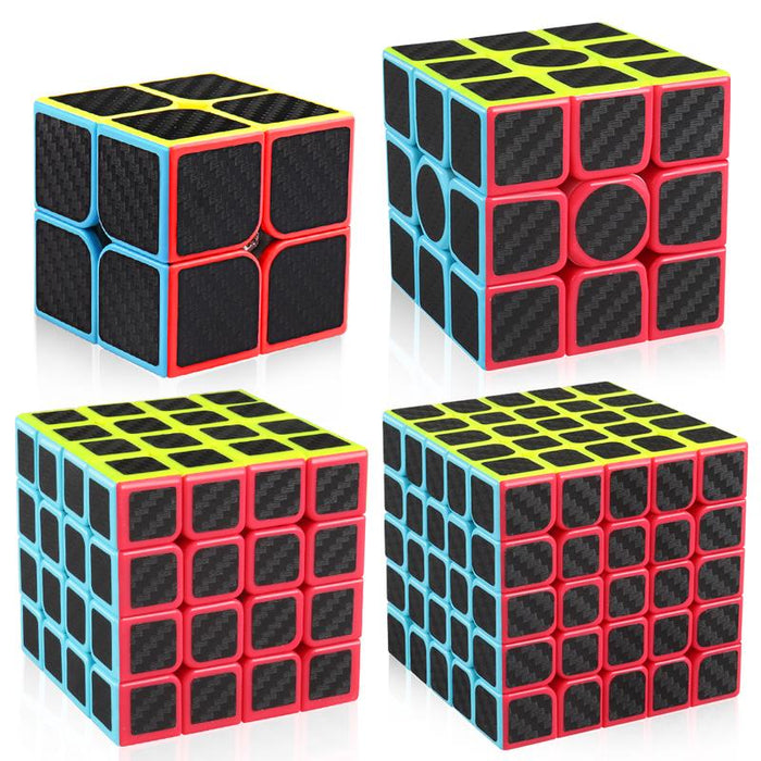 Z Cube Carbon Fibre 2x2-5x5 Gift Box Set