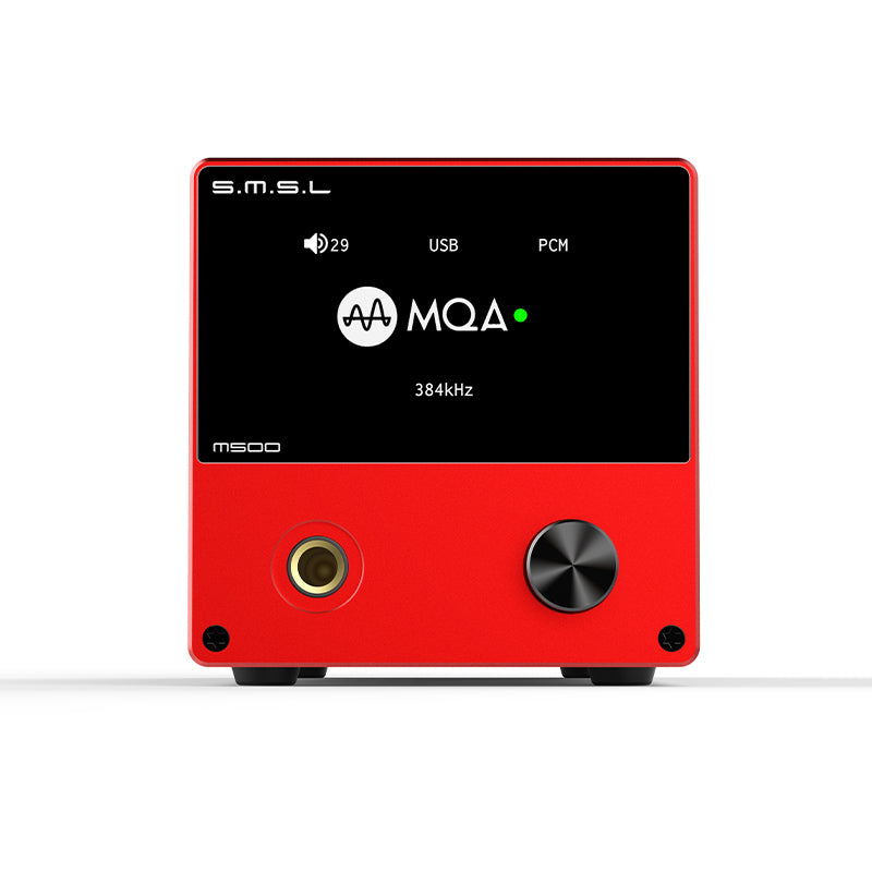 The M500 MQA dac Headphone Amplifier - hifiexpress