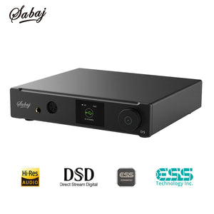 Sabaj D5 Audio DAC ESS9038PRO  Heaphone amplifier