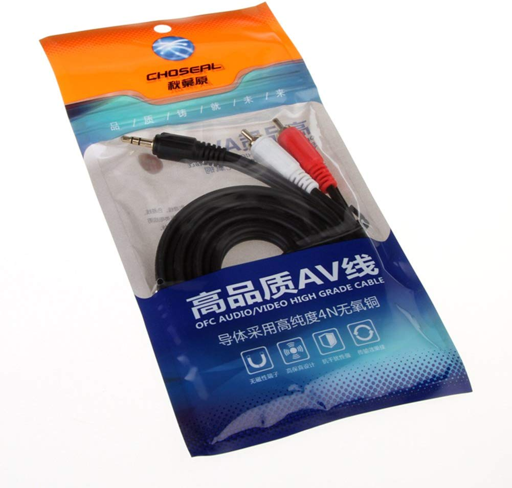 Choseal Q304 3.5mm to AV RCA Audio OFC Cable  HiFi-express