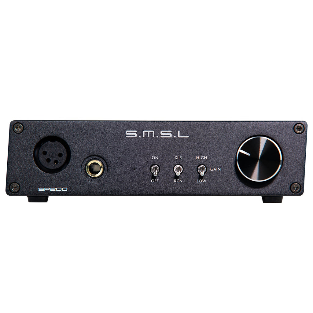 Used products SMSL SP200 THX AAA 888 Technology Balanced Headphone Amplifier with XLR RCA Input - hifiexpress