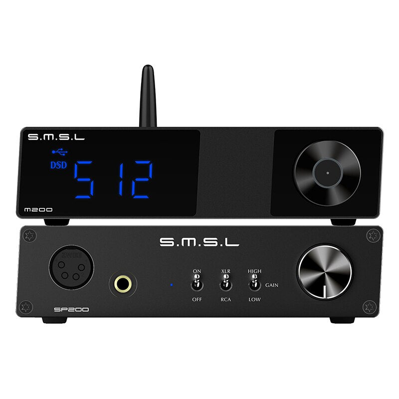 SMSL M200 High-res Bluetooth 5.0 audio DAC AK4497EQ support LDAC 32-bit 768 KHz DSD512  HiFi-express