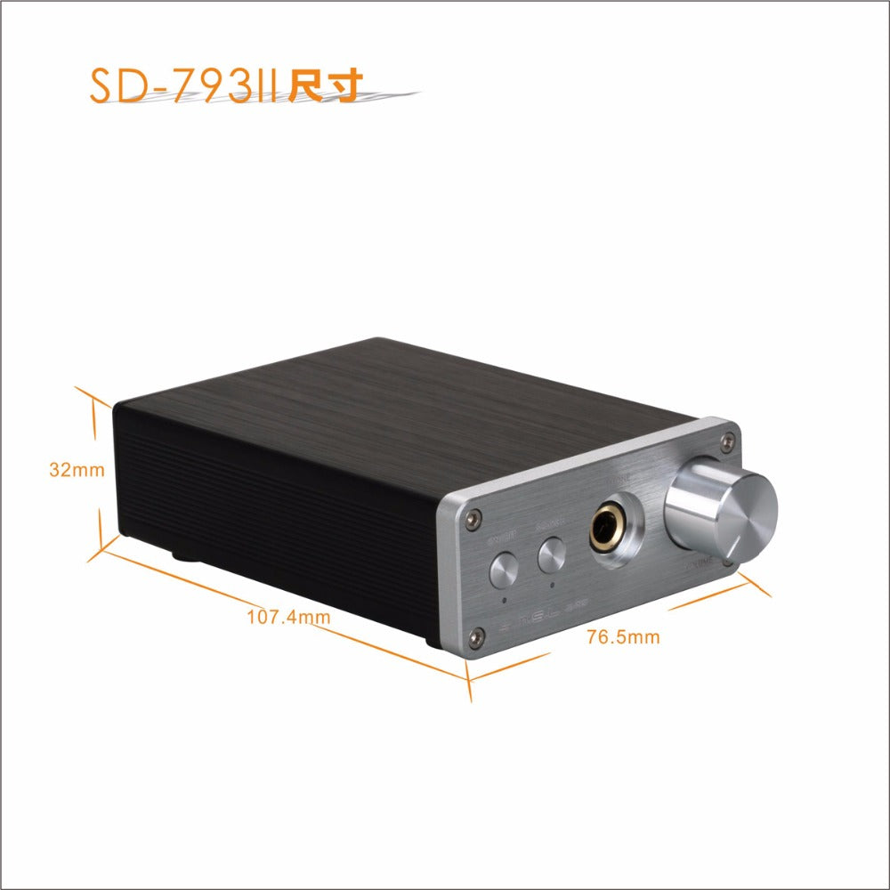 SMSL SD-793 II Audio Optical Coaxial PCM1793 DIR9001 DAC Built-in Headphone Amp - hifiexpress