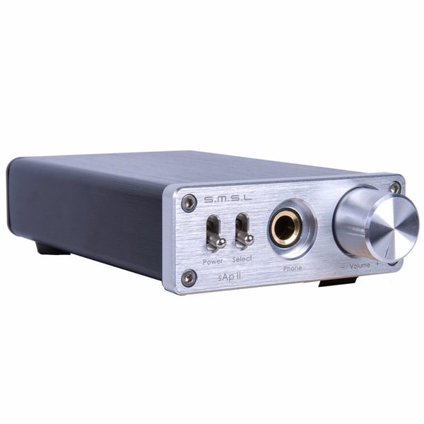 SMSL SAP II Portable Headphone Amplifier TPA6120A2 Big Power - hifiexpress