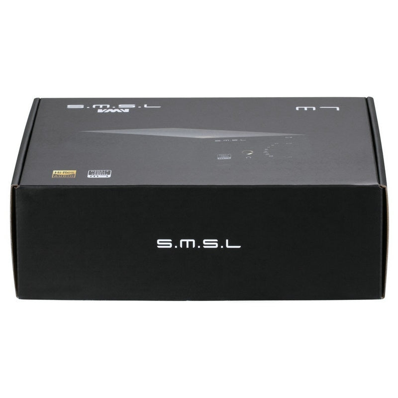 SMSL M7 2xAK4452 32Bit/768KHz DSD512 Hi-Fi Audio USB DAC with Headphone Amplifier USB Coaxial Optical Input RCA 6.35 Jack Output  HiFi-express