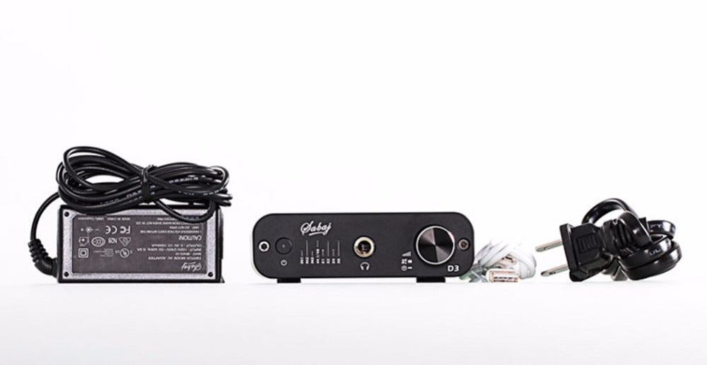 Sabaj D3 Audio DAC and Headphone Amplifier with 3 5 mm Jack