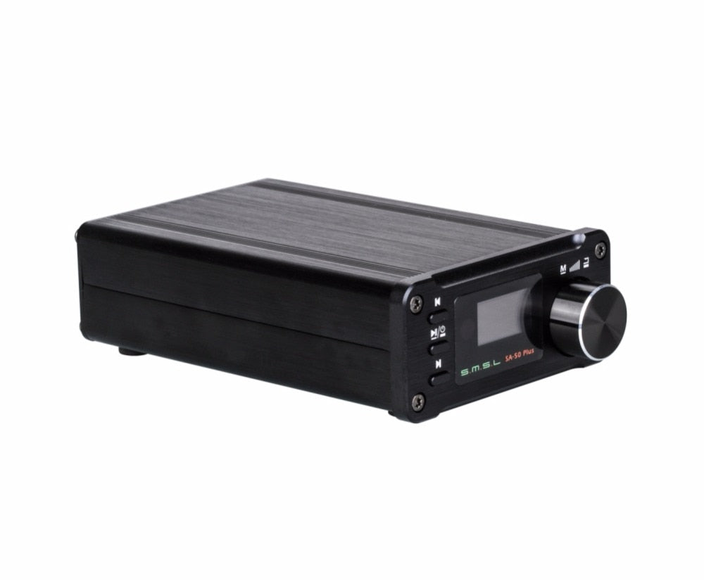 SMSL SA-50 Plus HiFi 50W Portable Power Amplifier  HiFi-express