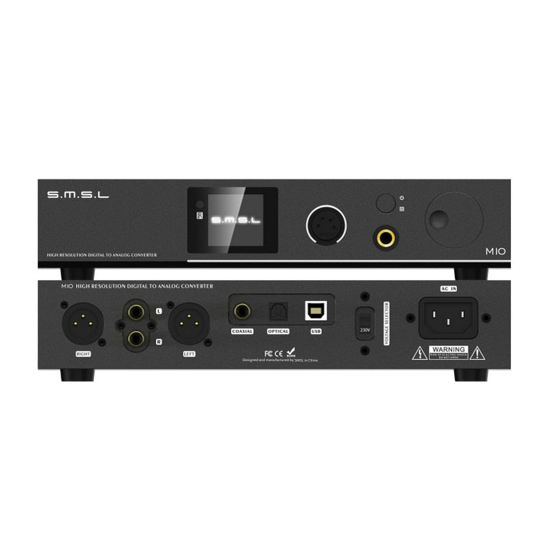 SMSL M10 AK4497 Chip Full balanced headphone Amp& DAC - hifiexpress