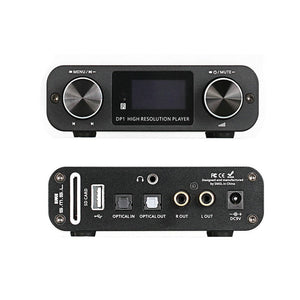 SMSL DP1 Digital Player Audio DAC with Built-in Headphone Amp  HiFi-express