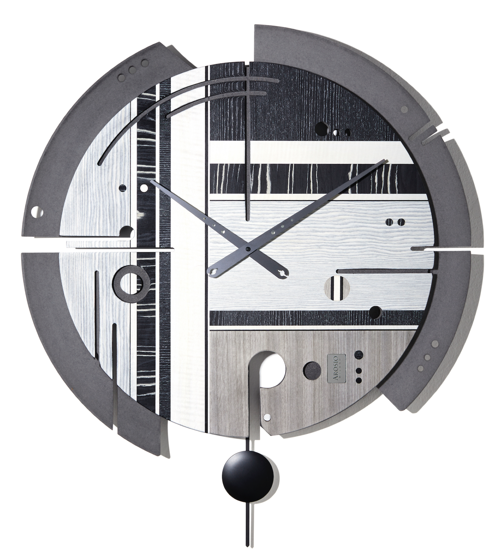 Samada Tech - Wood Wall Clock - Arosio Milano