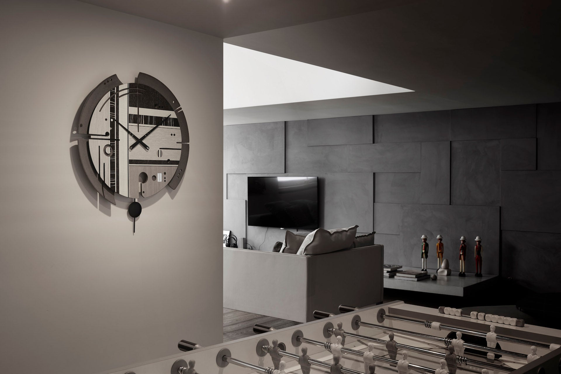 Samada Tech - Wood Wall Clock - Arosio Milano - Ambient
