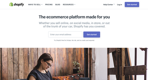 E-commerce made easy with Shopify