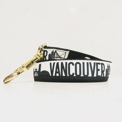 Bone and Bred VANCOUVER Leash in Black