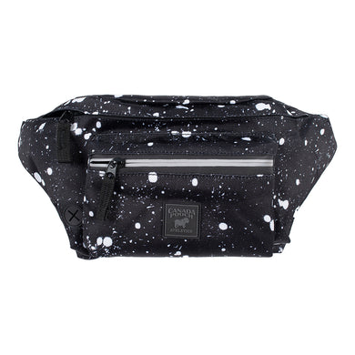 CANADA POOCH The Everything Fanny Pack BLACK SPLATTER