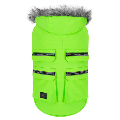 CANADA POOCH Everest Explorer Vest NEON GREEN