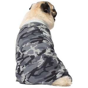 CANADA POOCH Frosty Fleece Sweatsuit BLACK CAMO