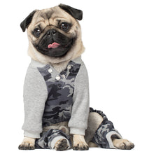 Load image into Gallery viewer, CANADA POOCH Frosty Fleece Sweatsuit BLACK CAMO