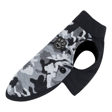 CANADA POOCH Northern Knit 2.0 BLACK CAMO