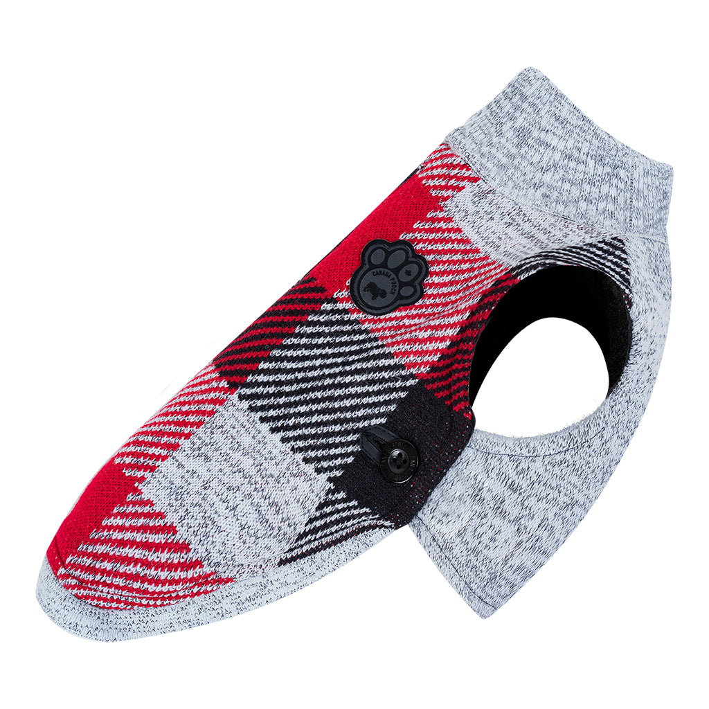 CANADA POOCH Northern Knit 2.0 PLAID
