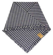 Load image into Gallery viewer, The Triangle Scarf - Blue Gingham