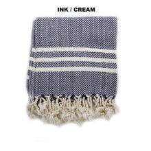 Load image into Gallery viewer, Il Cane Twofer Towel - Chevron (4 variants available)