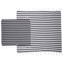 Load image into Gallery viewer, Il Cane Twofer Towel - Thin Stripe (5 variants available)