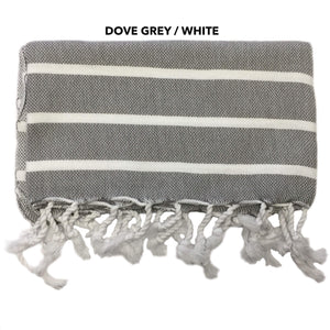 Il Cane Twofer Towel - Thin Stripe (5 variants available)