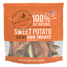 Load image into Gallery viewer, WHOLESOME PRIDE Sweet Potato Chews
