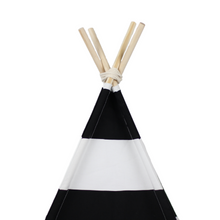 Load image into Gallery viewer, BARKHOLIC Black & White Teepee