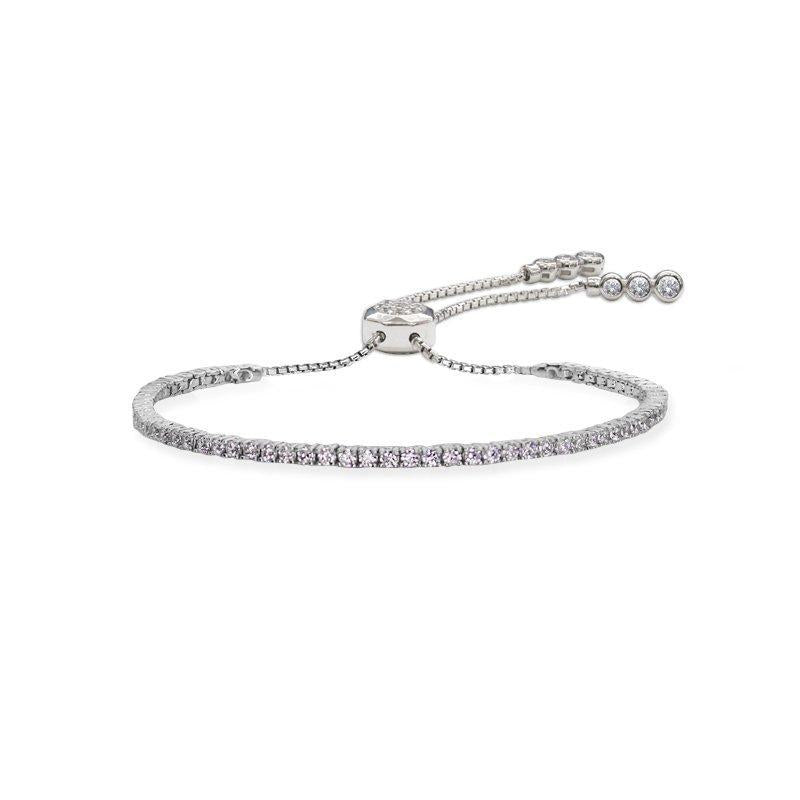 Lexi Bracelet in White Gold