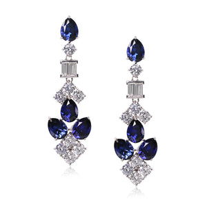 Lyla Sapphire Drop Earrings