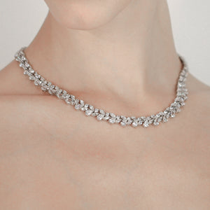 Marguerite Pear Necklace