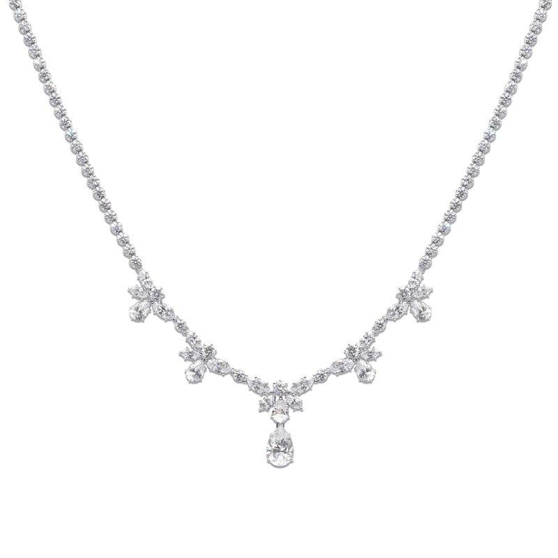 Sterling Silver Grand necklace
