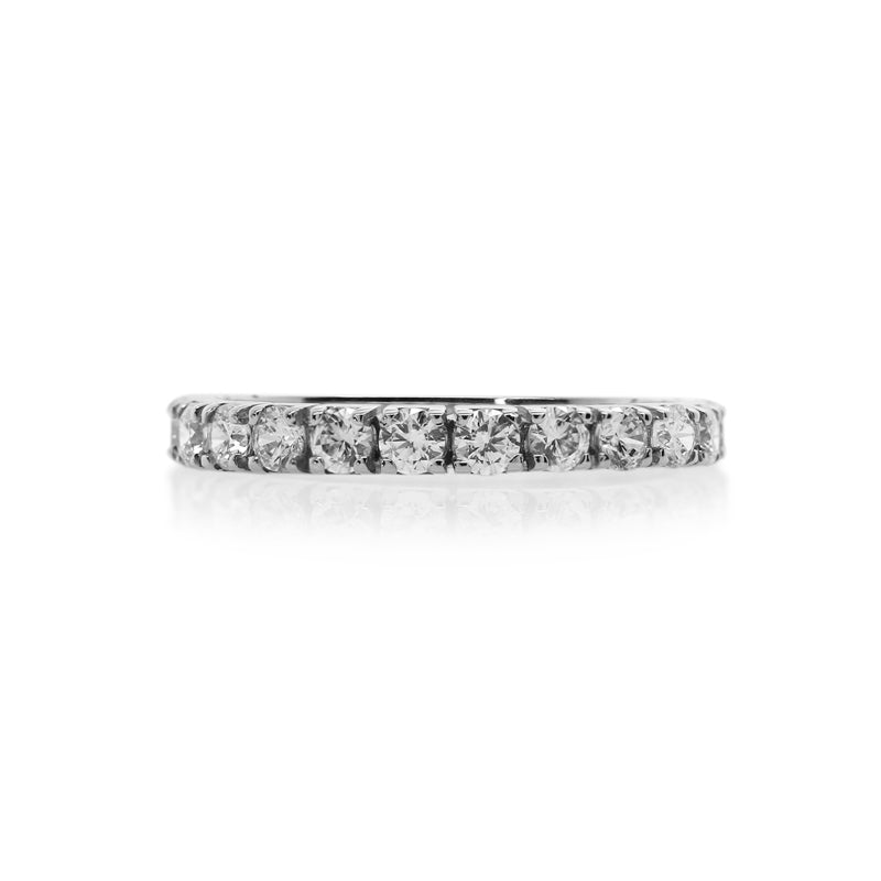 Eternity Ring White Gold