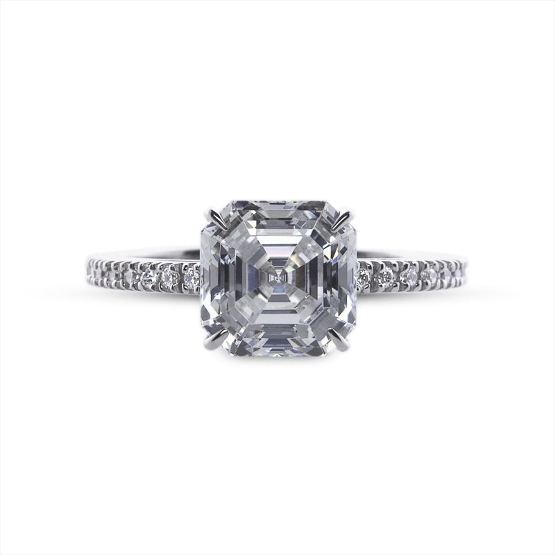 Loyal Asscher Cut Microset