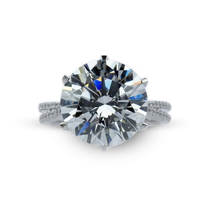 Royal Round Solitaire Microset