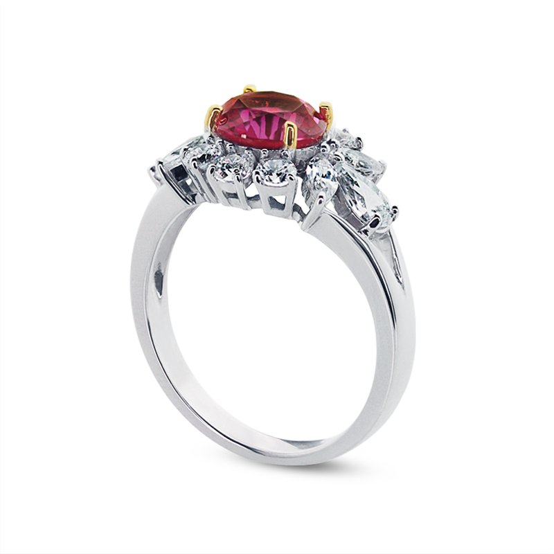 Elizabeth Ruby Ring