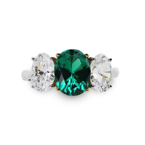 Oval Emerald Loin Trilogy