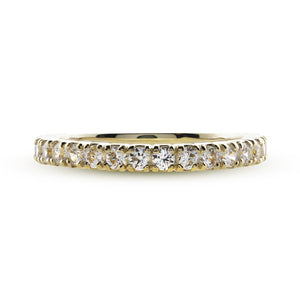 Jane Eternity Ring Yellow Gold