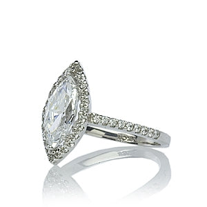 Rylee Marquise Borderset Ring