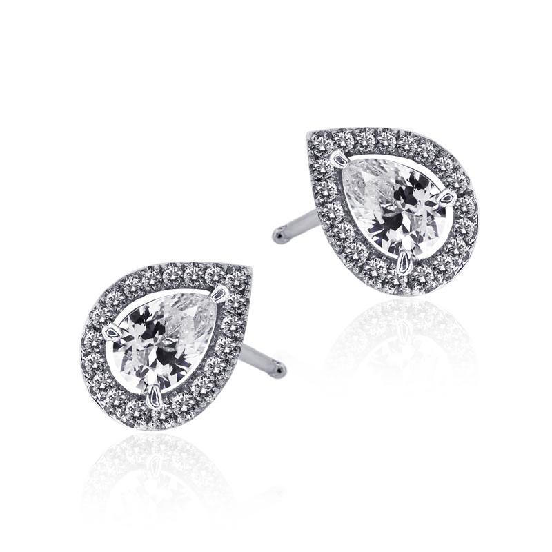 Pear Border Set Studs